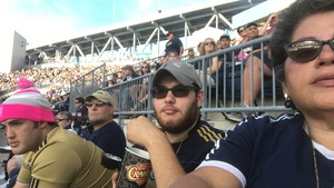 Erich attended Philadelphia Union vs. Orlando City SC - MLS on Oct 22nd 2017 via VetTix