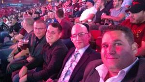 Joel attended Bellator MMA - Mousasi vs. Shlemenko - King Mo vs. Mcgeary - Presented by Bellator MMA - Mixed Martial Arts on Oct 20th 2017 via VetTix