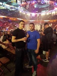 Robert attended Bellator MMA - Mousasi vs. Shlemenko - King Mo vs. Mcgeary - Presented by Bellator MMA - Mixed Martial Arts on Oct 20th 2017 via VetTix