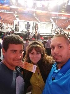 Hec attended Bellator MMA - Mousasi vs. Shlemenko - King Mo vs. Mcgeary - Presented by Bellator MMA - Mixed Martial Arts on Oct 20th 2017 via VetTix