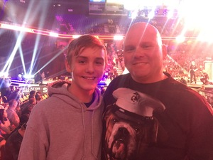 Mark attended Bellator MMA - Mousasi vs. Shlemenko - King Mo vs. Mcgeary - Presented by Bellator MMA - Mixed Martial Arts on Oct 20th 2017 via VetTix