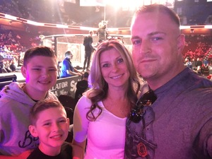 Vincent attended Bellator MMA - Mousasi vs. Shlemenko - King Mo vs. Mcgeary - Presented by Bellator MMA - Mixed Martial Arts on Oct 20th 2017 via VetTix