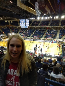 Alan attended 2017 Veterans Classic With Alabama vs. Memphis and Pittsburgh vs. Navy - NCAA Basketball on Nov 10th 2017 via VetTix