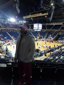 Craig attended 2017 Veterans Classic With Alabama vs. Memphis and Pittsburgh vs. Navy - NCAA Basketball on Nov 10th 2017 via VetTix