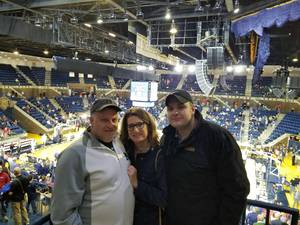 Troy attended 2017 Veterans Classic With Alabama vs. Memphis and Pittsburgh vs. Navy - NCAA Basketball on Nov 10th 2017 via VetTix