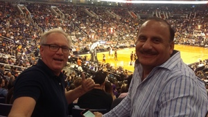 david attended Phoenix Suns vs. Miami Heat - NBA on Nov 8th 2017 via VetTix
