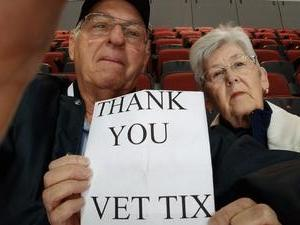 Charles attended Arizona Coyotes vs. Winnipeg Jets - NHL - Military Appreciation Game! on Nov 11th 2017 via VetTix