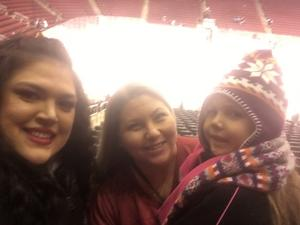 Kelley attended Arizona Coyotes vs. Winnipeg Jets - NHL - Military Appreciation Game! on Nov 11th 2017 via VetTix