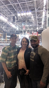 Christopher attended Arizona Coyotes vs. Winnipeg Jets - NHL - Military Appreciation Game! on Nov 11th 2017 via VetTix