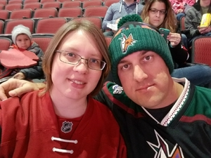 Daniel attended Arizona Coyotes vs. Winnipeg Jets - NHL - Military Appreciation Game! on Nov 11th 2017 via VetTix