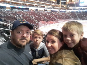 Travis attended Arizona Coyotes vs. Winnipeg Jets - NHL - Military Appreciation Game! on Nov 11th 2017 via VetTix