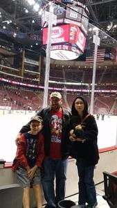 Ian attended Arizona Coyotes vs. Winnipeg Jets - NHL - Military Appreciation Game! on Nov 11th 2017 via VetTix