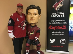 Edmund attended Arizona Coyotes vs. Winnipeg Jets - NHL - Military Appreciation Game! on Nov 11th 2017 via VetTix
