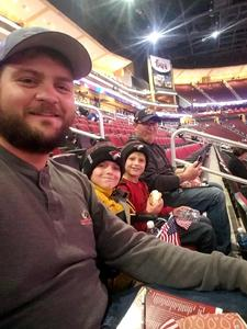 MICHELLE attended Arizona Coyotes vs. Winnipeg Jets - NHL - Military Appreciation Game! on Nov 11th 2017 via VetTix