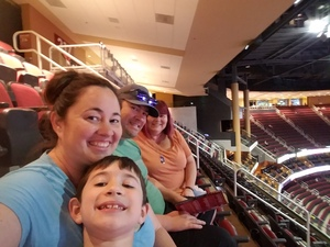 Larissa attended Arizona Coyotes vs. Winnipeg Jets - NHL - Military Appreciation Game! on Nov 11th 2017 via VetTix