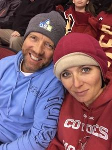 Amy P attended Arizona Coyotes vs. Winnipeg Jets - NHL - Military Appreciation Game! on Nov 11th 2017 via VetTix