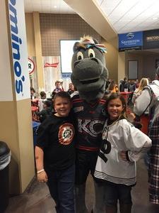NP attended Kansas City Mavericks vs. Wichita Thunder - Home Opener - ECHL on Oct 28th 2017 via VetTix