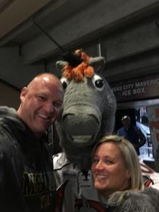 Terry attended Kansas City Mavericks vs. Wichita Thunder - Freedom Friday - ECHL on Nov 10th 2017 via VetTix