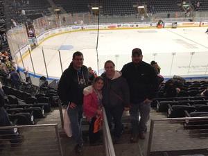 Michael attended Kansas City Mavericks vs. Wichita Thunder - Veterans Day - ECHL on Nov 11th 2017 via VetTix