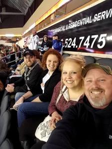 Angelique attended Kansas City Mavericks vs. Wichita Thunder - Veterans Day - ECHL on Nov 11th 2017 via VetTix
