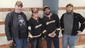 William attended Anaheim Ducks vs. Vancouver Canucks - NHL - Military Appreciation Night! on Nov 9th 2017 via VetTix