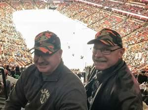 Howard attended Anaheim Ducks vs. Vancouver Canucks - NHL - Military Appreciation Night! on Nov 9th 2017 via VetTix