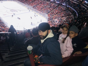 Philip attended Anaheim Ducks vs. Vancouver Canucks - NHL - Military Appreciation Night! on Nov 9th 2017 via VetTix