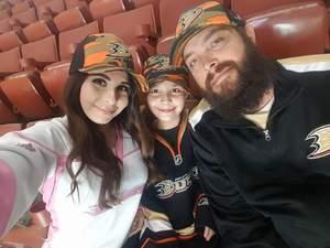 Michael attended Anaheim Ducks vs. Vancouver Canucks - NHL - Military Appreciation Night! on Nov 9th 2017 via VetTix