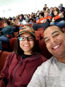 DUGLA attended Anaheim Ducks vs. Vancouver Canucks - NHL - Military Appreciation Night! on Nov 9th 2017 via VetTix
