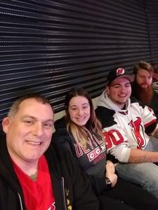 John attended New Jersey Devils vs. Edmonton Oilers - NHL on Nov 9th 2017 via VetTix