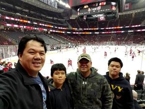 Rito attended New Jersey Devils vs. Edmonton Oilers - NHL on Nov 9th 2017 via VetTix