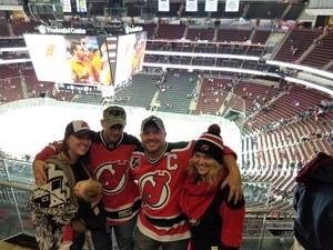 wes attended New Jersey Devils vs. Edmonton Oilers - NHL on Nov 9th 2017 via VetTix