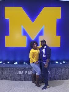Rashidi attended University of Michigan vs. North Florida - NCAA Mens Basketball on Nov 11th 2017 via VetTix