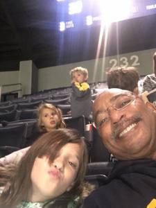 Samuel attended University of Michigan vs. North Florida - NCAA Mens Basketball on Nov 11th 2017 via VetTix