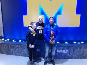 JEFFREY attended University of Michigan vs. North Florida - NCAA Mens Basketball on Nov 11th 2017 via VetTix