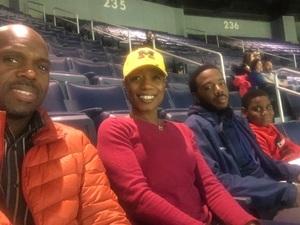 Marchel attended University of Michigan vs. North Florida - NCAA Mens Basketball on Nov 11th 2017 via VetTix