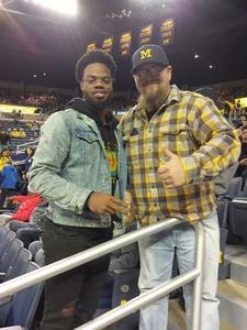 Christopher attended University of Michigan vs. North Florida - NCAA Mens Basketball on Nov 11th 2017 via VetTix