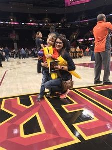 Lindsay attended Cleveland Cavaliers vs. Chicago Bulls - NBA on Oct 24th 2017 via VetTix