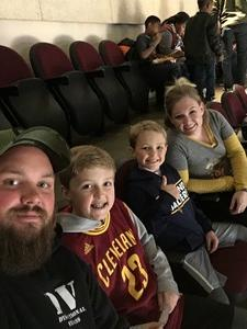 Nicholas attended Cleveland Cavaliers vs. Chicago Bulls - NBA on Oct 24th 2017 via VetTix