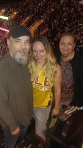 Kathryn attended Cleveland Cavaliers vs. Chicago Bulls - NBA on Oct 24th 2017 via VetTix