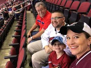 Bryan attended Arizona Coyotes vs. Carolina Hurricanes - NHL - Military Appreciation Game! on Nov 4th 2017 via VetTix