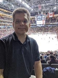 David  V attended Arizona Coyotes vs. Carolina Hurricanes - NHL - Military Appreciation Game! on Nov 4th 2017 via VetTix