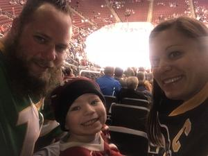 Renee attended Arizona Coyotes vs. Carolina Hurricanes - NHL - Military Appreciation Game! on Nov 4th 2017 via VetTix