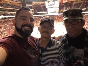 kevin attended Arizona Coyotes vs. Carolina Hurricanes - NHL - Military Appreciation Game! on Nov 4th 2017 via VetTix