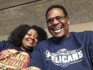 Shonda attended New Orleans Pelicans vs. Orlando Magic - NBA on Oct 30th 2017 via VetTix