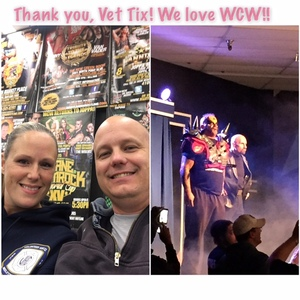 Philip and Irene attended Autumn Armageddon 2017 - Joppa - Presented by Maryland Championship Wrestling on Nov 10th 2017 via VetTix
