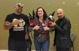 Holly attended Autumn Armageddon 2017 - Joppa - Presented by Maryland Championship Wrestling on Nov 10th 2017 via VetTix