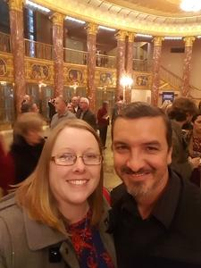 Cathrine attended Mendelssohn's Scottish - Presented by the Cleveland Orchestra on Nov 10th 2017 via VetTix