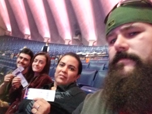Matthew attended Justin Moore: Hell on a Highway Tour on Nov 3rd 2017 via VetTix
