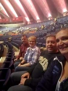 Heath attended Justin Moore: Hell on a Highway Tour on Nov 3rd 2017 via VetTix
